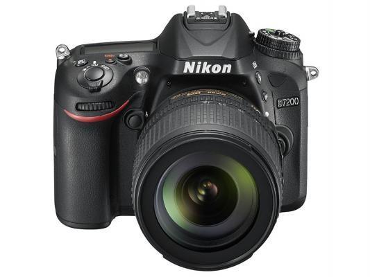Фотоаппарат зеркальный Nikon D7200 Kit 18-140VR