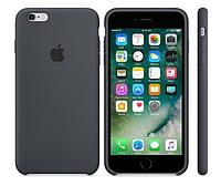 Cиликоновый чехол для iPhone 6 plus/6s plus (темно-серый), фото 1