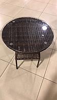 Стол, ротанговая мебель, диаметр 60см