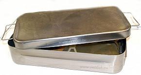 Стерилизатор (кипятильник) П-34 огневой, для инструм., р-р :360х171х85мм,вес-2,4кг, емк- 3 л.