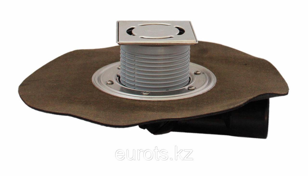 Трап для внутренних помещений с гидроизоляционным полимербитумным полотном HL80.1H