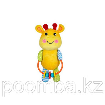 """Мягкая игрушка-погремушка """"Жирафик"""""""