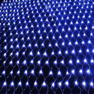 Светодиодная сетка 5*3 (цвет синий)