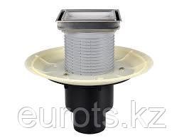 Трап с вертик. выпуском с надставным эл-ом для вклеивания керам. плитки с сухим затвором HL310NPr-30
