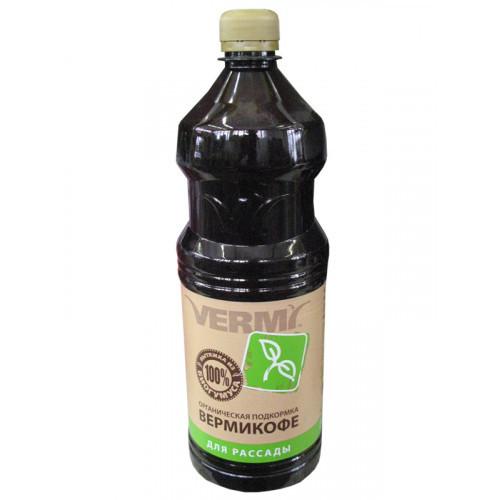 Подкормка органическая ВермиКофе для рассады (1 литр)