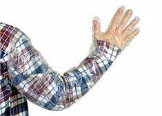 Перчатка ветеринарная ВИК-ГАМЕТА- Ультра, суперчувствительная, дл. 90 см., 25 мкр