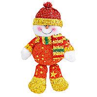 Ёлочная игрушка , снеговик 17см