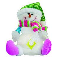 Банка для сладостей , снеговик 15см