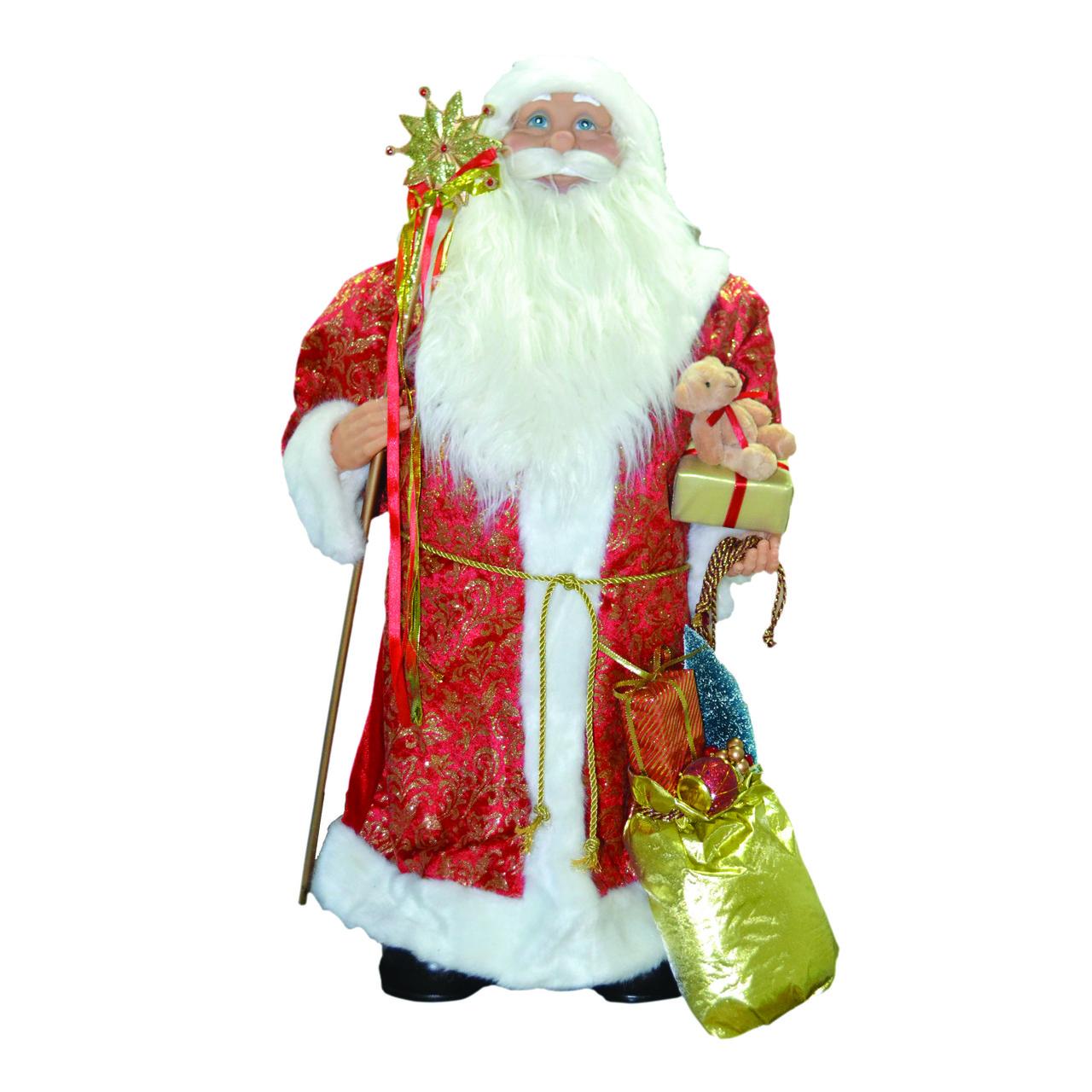 Дед Мороз 80см в красном
