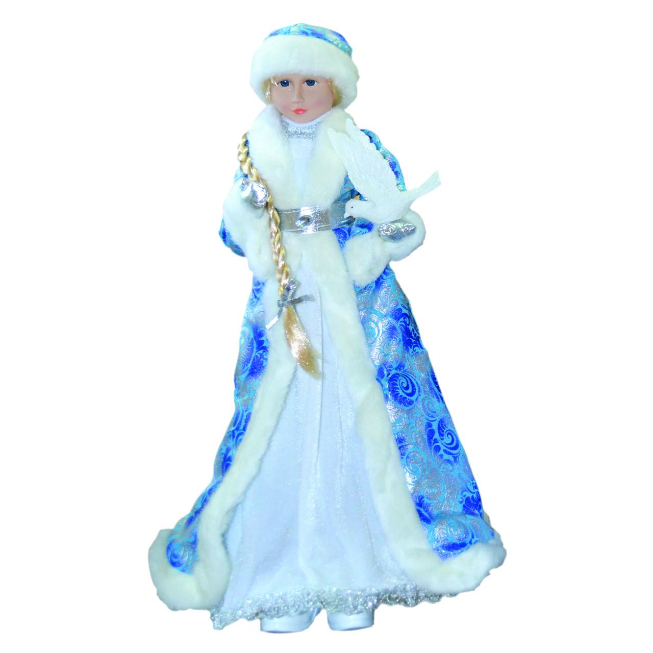 Снегурочка 60см в голубом