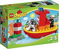 Лего Дупло  Пожарный катер, фото 1