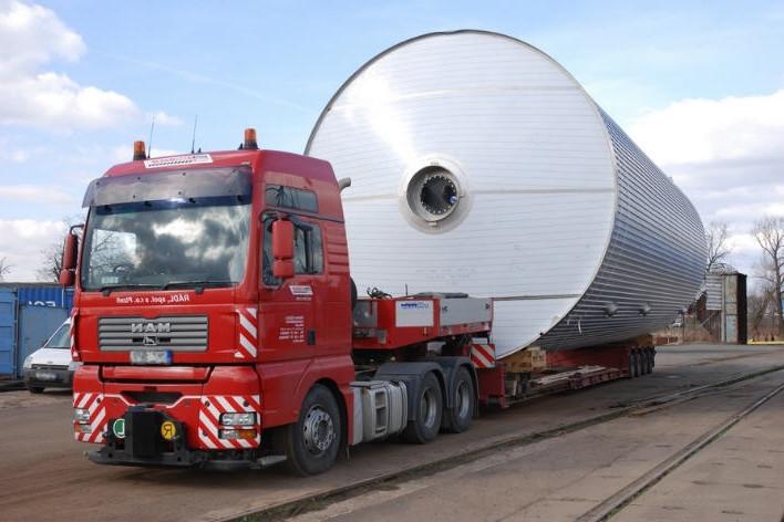 Организация перевозок негабаритных грузов