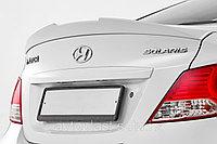 Спойлер на багажник Hyundai Accent (Solaris) 2010+, фото 1