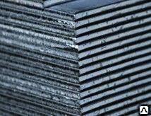 Лист 100х1500х6000 мм сталь 45 ГОСТы 1577-93, 19903-74, 1050-88