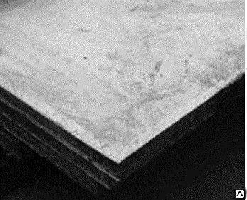 Лист холоднокатаный 3*1250*2500 сталь 08ю ГОСТы 9045-93, 19904-90
