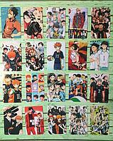 Коллекционная наклейка(стикер) Волейбол haikyuu, поштучно