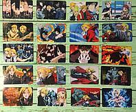 Коллекционная наклейка(стикер) Стальной алхимик, поштучно