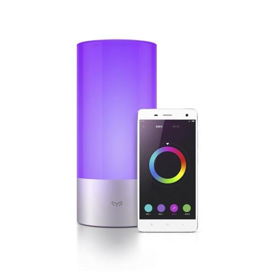 Прикроватная лампа, Xiaomi, YeeLight MUE4028RT, 16 миллионов цветов, Управление через смартфон IOS/A