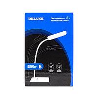 Настольная светодиодная лампа, Deluxe, DLTL-102BL-6W, 6Вт, 24 диода, Сенсорное управление, 3 Степени, фото 3