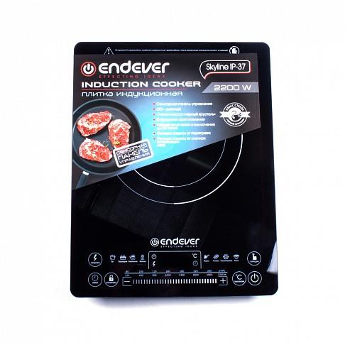 Плита индукционная электрическая Endever Skyline IP-37, 2200 Вт, цифровой дисплей