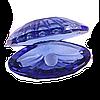 Ракушка с жемчужиной (синяя)