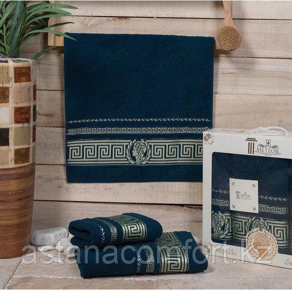 Набор махровых полотенец в подарочной упаковке. Турция, 2 шт.
