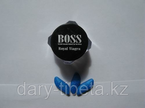 BOSS Royal Виагра королевская ( баночка - 3 табл )