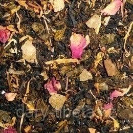 Китайский Зеленый чай с малиной