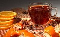 Китайский Зеленый чай с апельсином