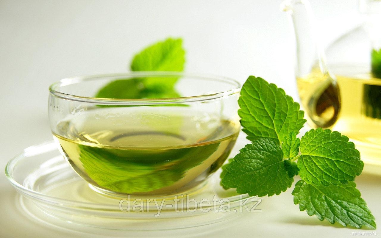 Китайский Зеленый чай с мятой