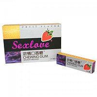 Sexlove - Жвачка для возбуждения  ( штучно 1*5 )