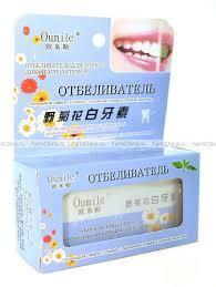 Отбеливатель для зубов c дикой хризантемой
