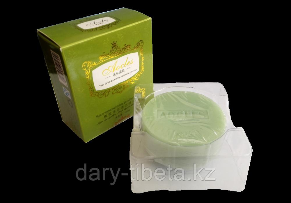 Лечебное мыло эфирного масла оливы для глубокой очистки кожи - Aocles