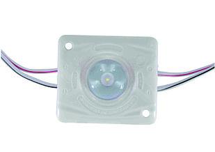Одноточечный (4136) для прямой подсветки с алюминиевым теплоотводом 1.4W (IP67) Белый