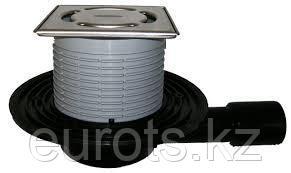 Трап как HL90Pr, с подрамником из нерж. стали, в подрамнике Klick-Klack HL90Pr-3000