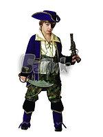 """Карнавальный костюм """"Капитан пиратов"""" лиловый"""