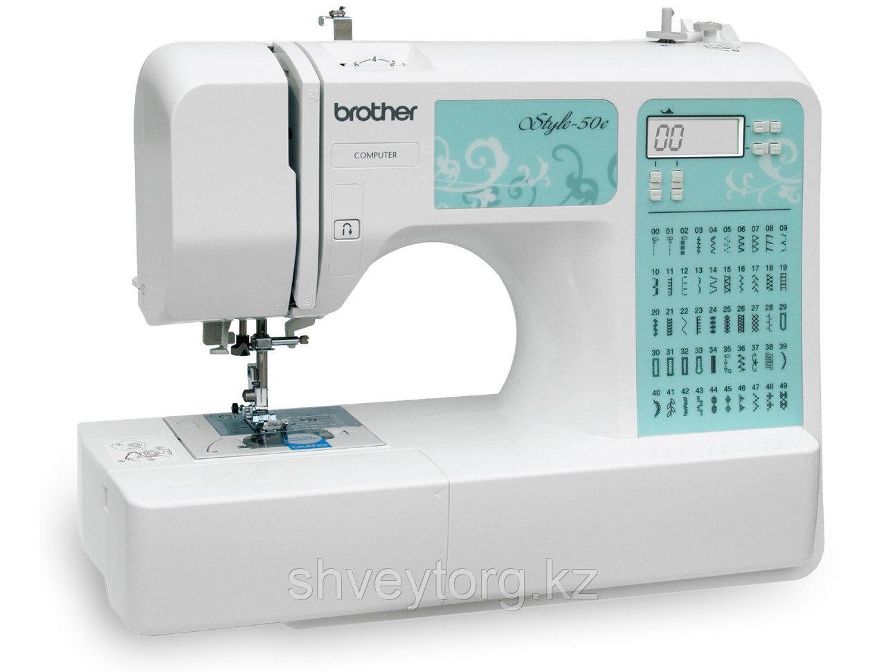 Компьютеризированная швейная машина Brother style 50