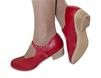 Туфли для народных танцев (красный)
