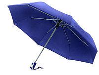 "Зонт складной автомат (21""*14) синий"