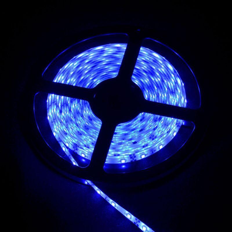 Не влагозащищенная светодиодная лента 2835, 60 Д/М (IP33), Цвет - Синий