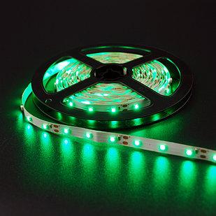 Не влагозащищенная светодиодная лента 2835, 60 Д/М (IP33), Цвет - Зеленый
