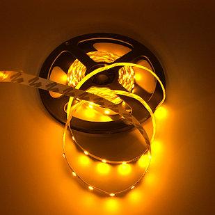 Не влагозащищенная светодиодная лента 2835, 60 Д/М (IP33), Цвет - Желтый