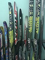 Лыжи пластиковые STC. Рост 140-160 см
