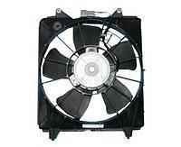 Диффузор радиатора в сборе RENAULT LOGAN 08- без кондиционера