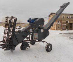Зернометатель самопередвижной ЗС-100
