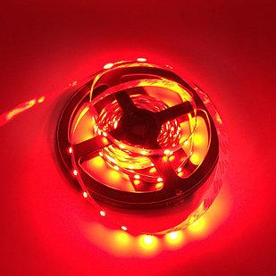 Влагозащищенная светодиодная лента 2835, 60 Д/М (IP68), Цвет - Красный