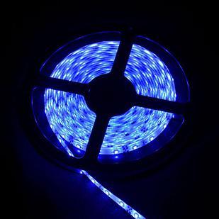 Влагозащищенная светодиодная лента 2835, 60 Д/М (IP68), Цвет - Синий