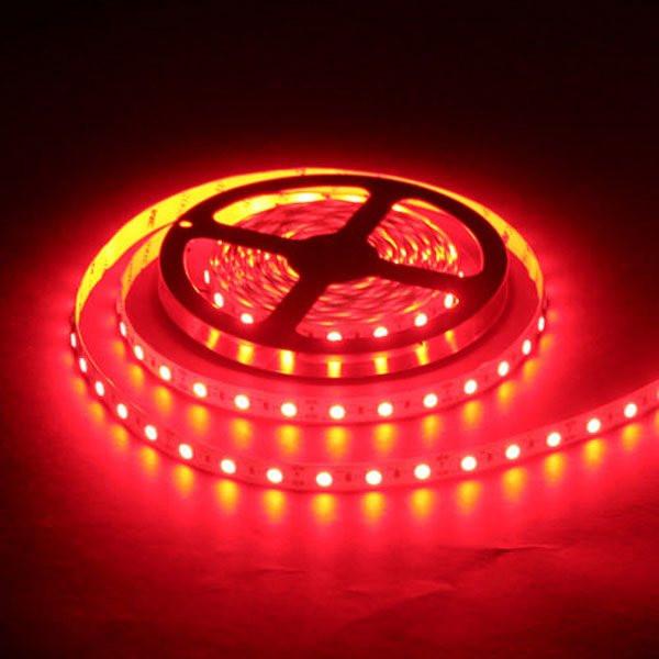 Влагозащищенная светодиодная лента 3528, 60 Д/М (IP65), Цвет - Красный