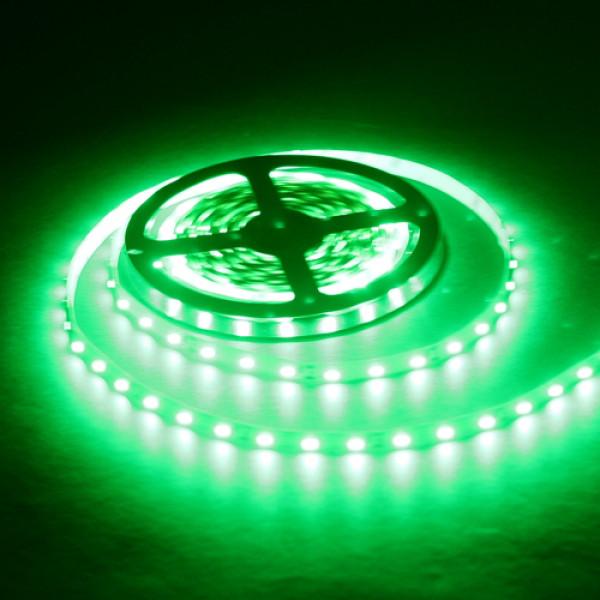 Влагозащищенная светодиодная лента 3528, 60 Д/М (IP65), Цвет - Зеленый