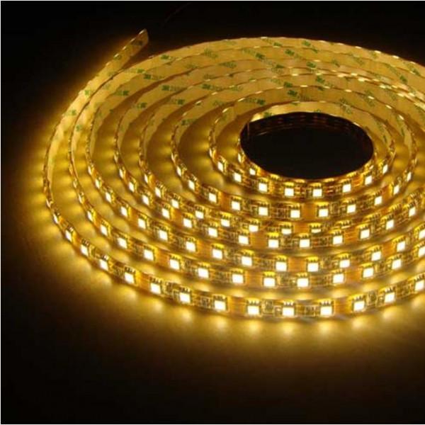 Влагозащищенная светодиодная лента 3528, 60 Д/М (IP65), Цвет - Желтый
